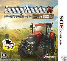 Used Farming Simulator 3D pocket plantation 2 NINTENDO 3DS JAPANESE  IMPORT