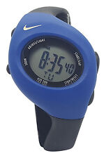 New Nike Triax Junior WR0017 Dark Blue Black Digital Sports Chronograph Watch