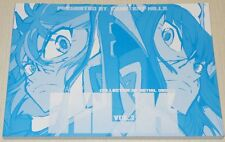 Kill la Kill The Art of KLK Collection of Initial Design Art Book 2 Anime Sketch