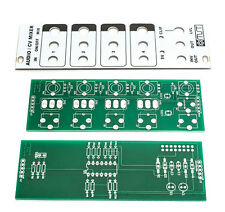 MST 4-Channel Audio / CV Mixer PCB and Panel Combo by Synthrotek