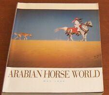 Arabian Horse World Magazine May 1995 Scottsdale Egyptian Brazil Allionce Shaqab