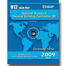 N12 National Standard  General Building Contractor Exam Questions Workbook ICC