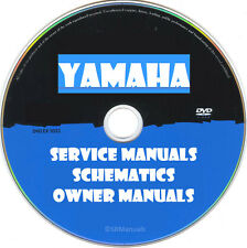 Yamaha Hifi Service Owner Manuals & Schematics- PDFs on DVD - Huge Collection