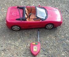 MATTEL Barbie Ferrari f355 AUTO SPORTIVA ANNO 2000 con telecomando