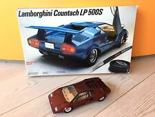 *RARE* TESTORS FUJIMI 1/20 Lamborghini Countach LP500S BUILT RED with KIT BOX