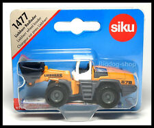 Siku 1477 Liebherr Wheel Loader Diecast Car New