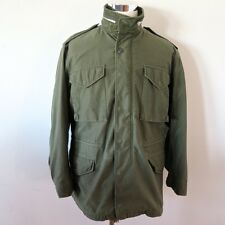 VINTAGE ORIGINAL US ARMY M-65 M65 FIELD JACKET OG-107 MEDIUM 1967 CONMAR TALON
