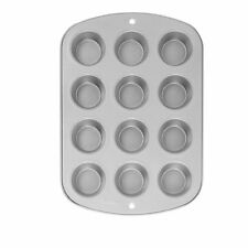 Wilton Recipe Right Nonstick 12 Cup Regular Muffin Cupcake Baking Pan Tray New