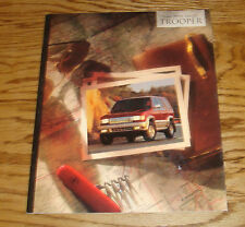 Original 1995 Isuzu Trooper Sales Brochure 95