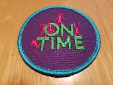 """GIRL SCOUTS """"On Time"""" 3"""" Patch"""
