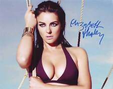 Elizabeth Hurley In-person AUTHENTIC Autographed Photo COA SHA #37050