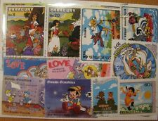 100 verschiedene Briefmarken Walt Disney , Comic , Kinder , Cartoon