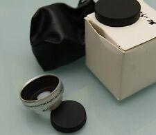 (PRL) 28 mm PROFESSIONAL 0.45X WIDE ANGLE LENS FOR DC/DV VIDEO FOTO MACRO CAMERA