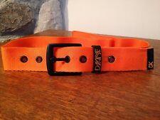 Dakine Men's Nylon RYDER Belt Hunter's Safety Orange size S / M
