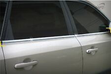 For Hyundai Tucson 2004 -  2010 Chrome Side Window Rubber Frame Cover Trim Set