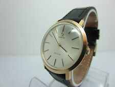 OMEGA DE VILLE MANUAL WINDING 18 K. GOLD WATCH