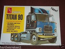 AMT CHEVROLET TITAN 90 TRUCK 1/25 Scale BIG RIG SEALED KIT