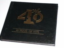 CLIFF RICHARD 40 YEARS OF HITS CD ALBUM MIT BUCH (PAPP-BOOKLET) 38 TITEL (YZ)