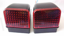 2x RED Cab Marker Lamps Lights for VOLVO FH - FL (FH12) Cabin Truck Lorry New