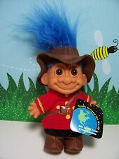 "AROUND THE WORLD CANADA - 5"" Russ Troll Doll - NEW IN ORIGINAL WRAPPER - Last 1s"