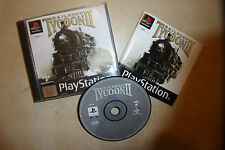 PS1 PLAYSTATION 1 PSone GAME RAILROAD TYCOON II / 2 +BOX INSTRUCTION COMPLETE
