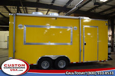 New 8.5' x 20' Concession Trailer-Food Vending-Financing Avail-New Equipment
