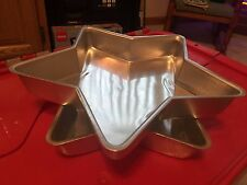 Wilton Vtg Christmas Star 1971 Cake Pan 205-2154 Baking Decorating Mold Collect