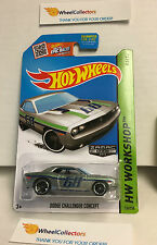 Dodge Challenger Concept #234 * ZAMAC Walmart * Hot Wheels 2015 USA Card * J24