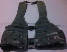 US Military Surplus Woodland Camo Molle Vest / FLC