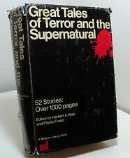 Great Tales of Terror & the Supernatural edited by Herbert Wise & Phyllis Fraser