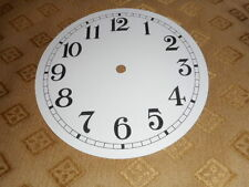 """Round Paper Clock Dial-3"""" M/T-Arabic- High Gloss-For Antique/Vintage/New Clocks"""