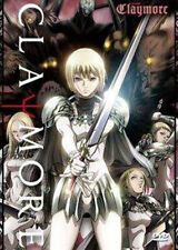 CLAYMORE - COMPLETE ANIME SERIES - 3 DISC BRAND NEW AND SEALED - BEST ENGLISH