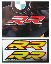 BMW S1000 RR 2013 carena DX SX giallo -  adesivi/adhesives/stickers/decal