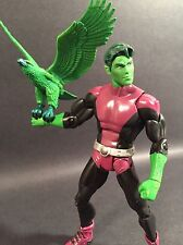 "2009 DC UNIVERSE CLASSICS WAVE 10 BEAST BOY WITH EAGLE 6"" FIGURE TEEN TITANS"