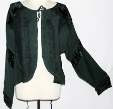XXL Plus Boho Gothic Emo Goth Renaissance Medieval Pirate Wench Gypsy Top Tunic