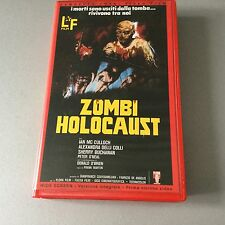VINTAGE # VHS TAPE VIDEOCASSETTA ZOMBI HOLOCAUST BY FRANK MARTIN# IN ITALIANO