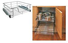 Teleskopschublade Vollauszug Küchenschublade Küchenschrank zum Nachrüsten 50cm