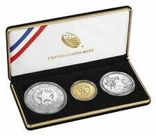 2015 U.S. Marshals Service 225th Anniversary Three Coin Proof Set, Coa & Box