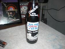 SUPER BOWL XVIII COLLECTORS COKE GLASS BOTTLE 1984