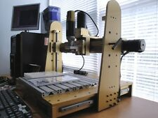 MODEL MASTER CNC 3 AXIS  MILLING ENGRAVING ENGRAVER 3D PRO-CAM SOFTWARE