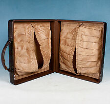 Ladies Vintage Vanity Overnight Lingerie Travel Case Luggage Suitcase - Display