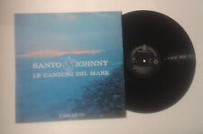 "Santo e Johnny ""Le canzoni del mare"" LP CANADIAN AMERICAN CAN LP 73 G+/VG"