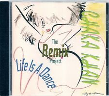 CD ALBUM 11 TITRES--CHAKAKHAN--LIFE IS A DANCE / THE REMIX PROJECT--1989