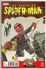 Stan Lee Signed Superior Spider Man #19 Lego Variant Comic W/ Stan Lee Hologram