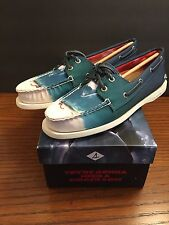 Sperry JAWS Movie Boat Shoes Women's 11 M Topsider Ladies SHARK! LTD edition