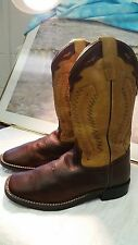 "Old West Cowboy Boots Boys Girls Kid - Outsole Thunder Oiled BSY1871 ""Great Pair"