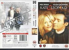 Kate & Leopold, Meg Ryan Video Promo Sample Sleeve/Cover #11241