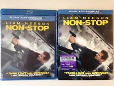 NEW/SEALED - Non-Stop Blu-ray/DVD, 2014, 2-Disc Set, Incl UV w/slipcover