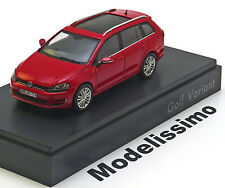 1:43 Spark VW Golf 7 Variant 2013 red