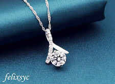 NEW Dovetail Stunning Pendant 925 Sterling Silver Necklace Chain Jewelry UK GIFT